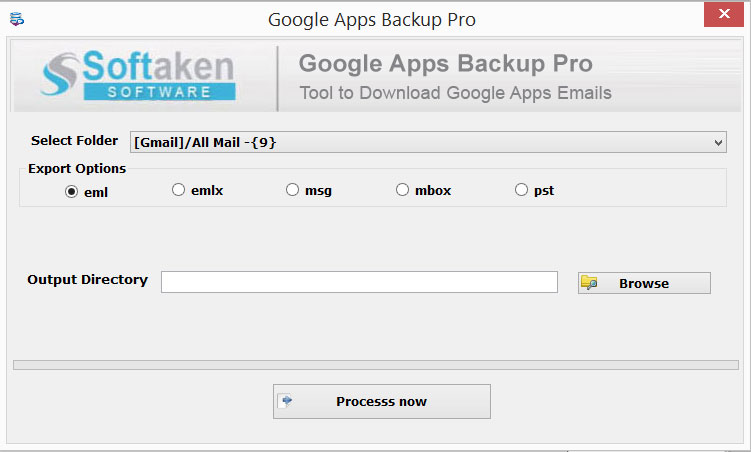 Google Apps backup Pro