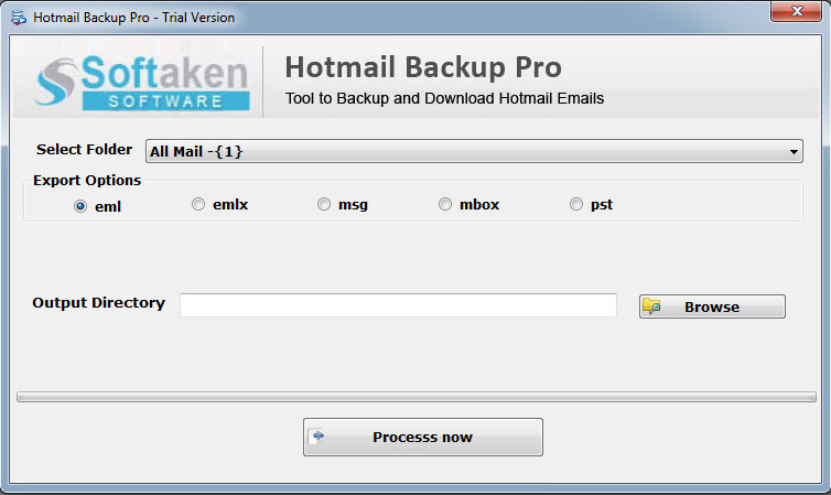 Softaken Hotmail Backup Pro