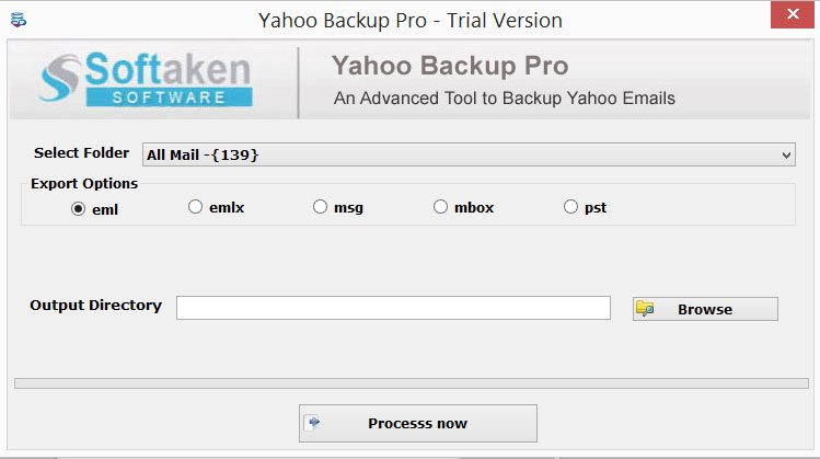 Yahoo backup Pro Software