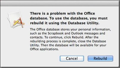 Know How to Rebuild Database in Outlook 2016 & 2011 for Mac System