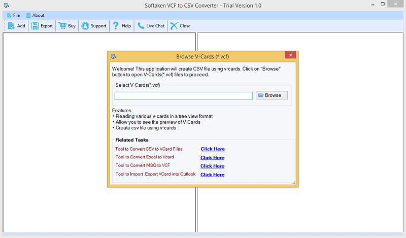 Softaken VCF to CSV Converter - Software Infocard Wiki