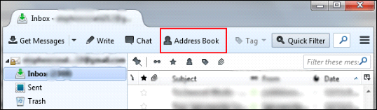 Free Export of Thunderbird Address Book to MS Outlook 2019
