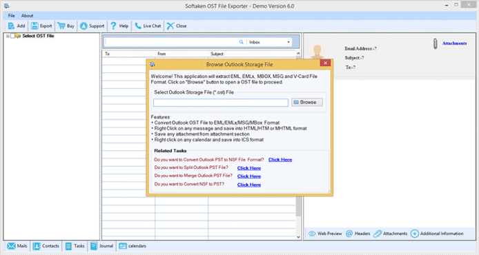 How to Convert OST to PST in Outlook 2010- Softaken OST to